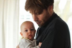 Eric and baby Hugo